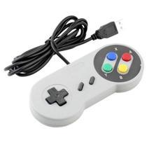 Controle Snes Usb Super Nintendo Pc Notebook Computador - Altomex