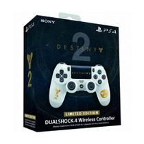 Controle Sony Dualshock 4 Destiny 2 Limited Edition sem fio (Com led frontal) - PS4 -