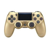Controle Sony Dualshock 4 Gold sem fio (Com led frontal) - PS4
