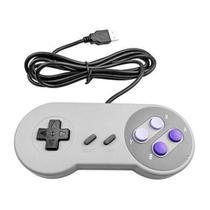 Controle Super Nintendo Usb Pc Snes Joystick -