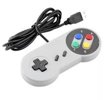 Controle Usb Super Nintendo Snes Joystick -