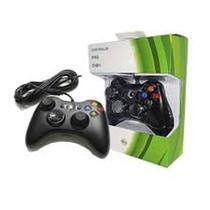 Controle Usb Xbox 360 Com Fio Aplicável Pc - Feir