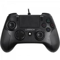 Controle WARRIOR Gamer p/ PS3/ PS4/ PC JS083 Preto MULTILASE - Multilaser