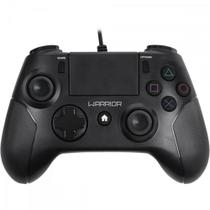 Controle WARRIOR Gamer p/ PS3/ PS4/ PC JS083 Preto MULTILASER