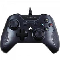 Controle WARRIOR Gamer p/ Xbox One e PC JS078 Preto MULTILASER -
