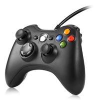 Controle Xbox 360 Com Fio Controle X360 Com Fio - Zem