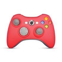 Controle Xbox 360 Rubber Pad Com Fio Vermelho - Dazz - Ref.: 621064 -