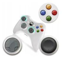 Controle Xbox 360 Sem Fio - Wireless Usb - Branco - M.A