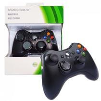 Controle Xbox 360 Sem Fio Wireless Usb Slim Joystick - Feir