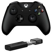 Controle Xbox One com Adaptador sem fio para Windows 10 -