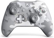 Controle Xbox One Sem Fio Arctic Camo Bluetooth P2 3,5mm -