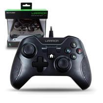 Controle Xbox One Warrior Multilaser Preto -