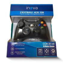 Controle XBOX S/Fio Inova Con-8148 Original + NF -