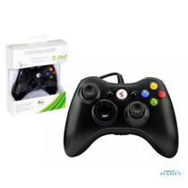 Controle XBOX360 com Fio Joystick Preto KP-5121A KP-5121A KNUP -