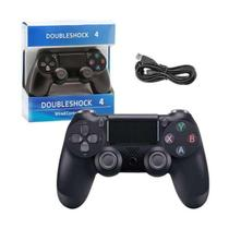 Controles  Doubleshock  para Ps4 Com Fio Wired  Top Joystick Manete -