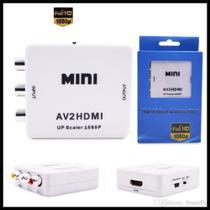 Conversor Adaptador Video Composto 3 Rca Av P/ Hdmi - Mc