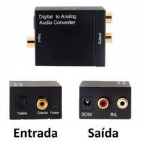 Conversor Audio ótico e Coaxial Digital para RCA  Analogico - Lotus