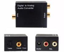 Conversor de Áudio Óptico Toslink x RCA - Lotus