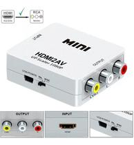 Conversor De Hdmi Para Video Composto 3 Rca Av - Lotus