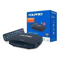 Conversor De Sinal de Tv Digital Hd com Gravador para TV sem Consersor Integrado ou de Tubo - Aquário Dtv-7000s -