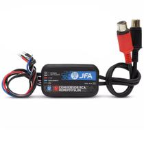 Conversor de Sinal RCA JFA Remoto Slim - 2 Canais - c/ Remote -