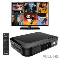 Conversor de TV Digital Universal Pix Full HD com Gravador