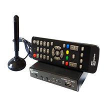 Conversor Digital Para Tv e Antena Interna c/imã e Cabo de 5 - Intersat