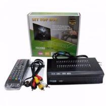 Conversor E Gravador Digital De Tv Full Hd Isdbt Terrestre - Set Top Box