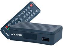 Conversor e Gravador Digital DTV-4000S - Aquário Full HD - Aquario