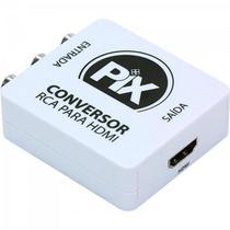 Conversor RCA para HDMI Branco PIX -