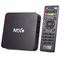 Conversor Smart Tv Box Mx9 4k 1GB Ram 8GB Rom Ultra Hd Wi-fi Android Hdmi - Oem