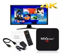 Conversor Smart Tv MxQ Pro 4k + Youtube e Netflix  Android 9.0 - Twister box