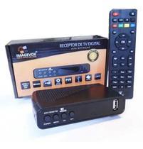 Conversor Tv Digital + Antena Externa 8 metros Cabo Tv Madriconnect -