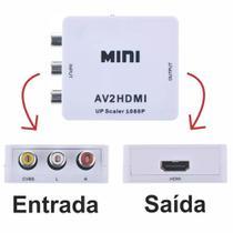 Conversor Vídeo Composto 3RCA AV X HDMI - Lotus