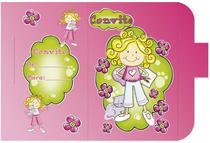 Convite Aniversário 10un (10x6,5cm) CT-018 Litoarte -