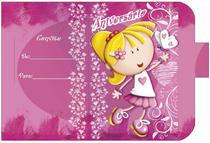 Convite Aniversário 10un (10x6,5cm) CT-030 Litoarte -