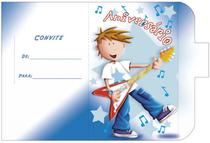Convite Meu Aniversário 10un (10x6,5cm) CT-031 Litoarte -