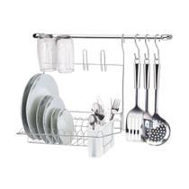 Cook Home 8 P Cozinha Com Escorredor E Porta Utensílios - Arthi -