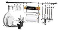Cook Home 9 Kit Cozinha Suspensa Black - Arthi -
