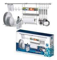 Cook Home 9 Porta Utensílios De Parede Cozinha Suspensa - ARTHI -