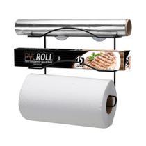 Cook Home Organizador p/ 3 Rolos Black - Arthi -