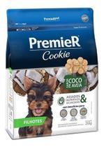 Cookie Premier Cães Filhotes Pequeno Porte Coco E Aveia 250g -