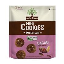 Cookies Orgânicos Sabor Cacau e Castanhas Mãe Terra 120g -
