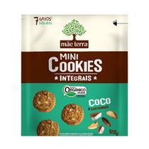 Cookies Orgânicos Sabor Coco e Castanhas Mãe Terra 120g -