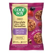 Cookies Sabor Chocolate e Frutas Vermelhos Good Soy 33g -