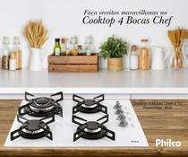 Cooktop 4 Bocas Chef 4 TC Branco Philco