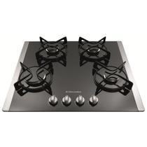 Cooktop 4 Queimadores Inox/Vidro Bivolt Ref. Gc60g - Electrolux