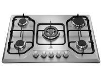 Cooktop 5 Bocas À Gás Electrolux Gt75X INOX -