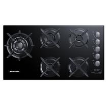 Cooktop 5 bocas Brastemp com Quadrichama e Timer Touch - BDT86AE -
