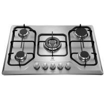 Cooktop 5 bocas Electrolux a Gás GT75X -